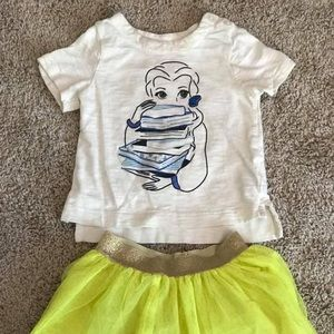 Like New Disney Gap Belle Outfit